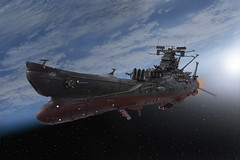 Star Blazers (Hyong) Tags: illustration airplane aircraft aviation navy animation battleship yamato japanimation pilot illust starblazers spacebattleshipyamato japananimation