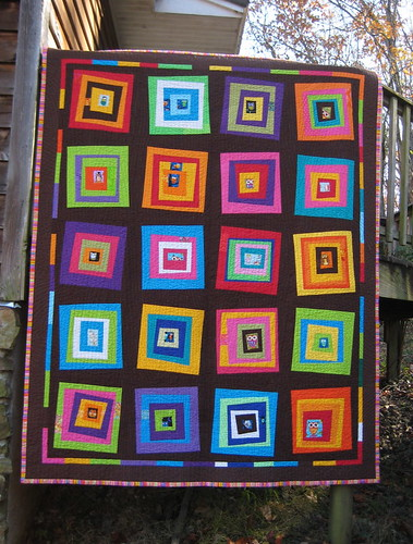 I just finished another quilt..... 2 pics : wonky quilt - Adamdwight.com
