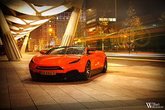 Savage Rivale Roadyacht GTS (Bart Willemstein) Tags: auto orange cars netherlands dutch car night nikon shoot photoshoot d70 nacht d70s nederland automotive nikkor royale oranje gts savage fotoshoot rivale bartw roadyacht autogespot bartwillemsteinnl