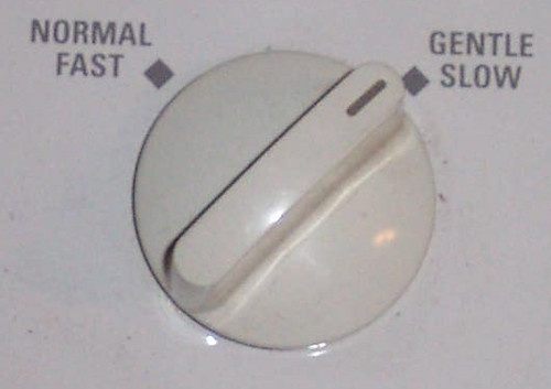 speed slow fast dial knob appliance washer