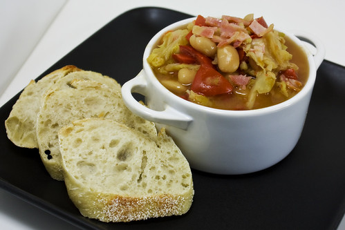 Savoy and Cannellini Stew