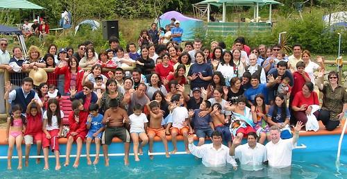 Arauco Baptism 2003