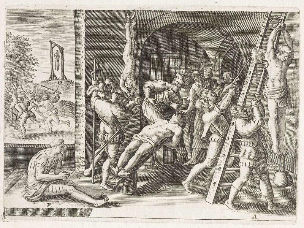Сексуальные пытки в древности подробности