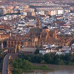 Córdoba: Mezquita Catedral, vista desde el aire.