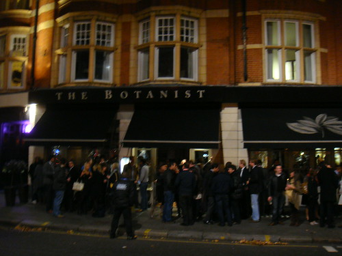 Vista de The Botanist desde Sloane Square