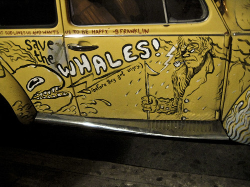 Save The Whales - Detail