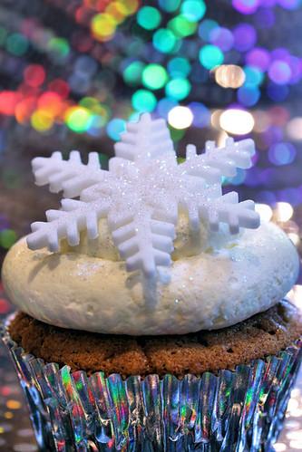 snowflake cupcake 6188