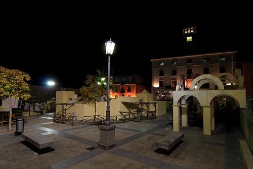 Preparativos del Belén de San Lorenzo de El Escorial