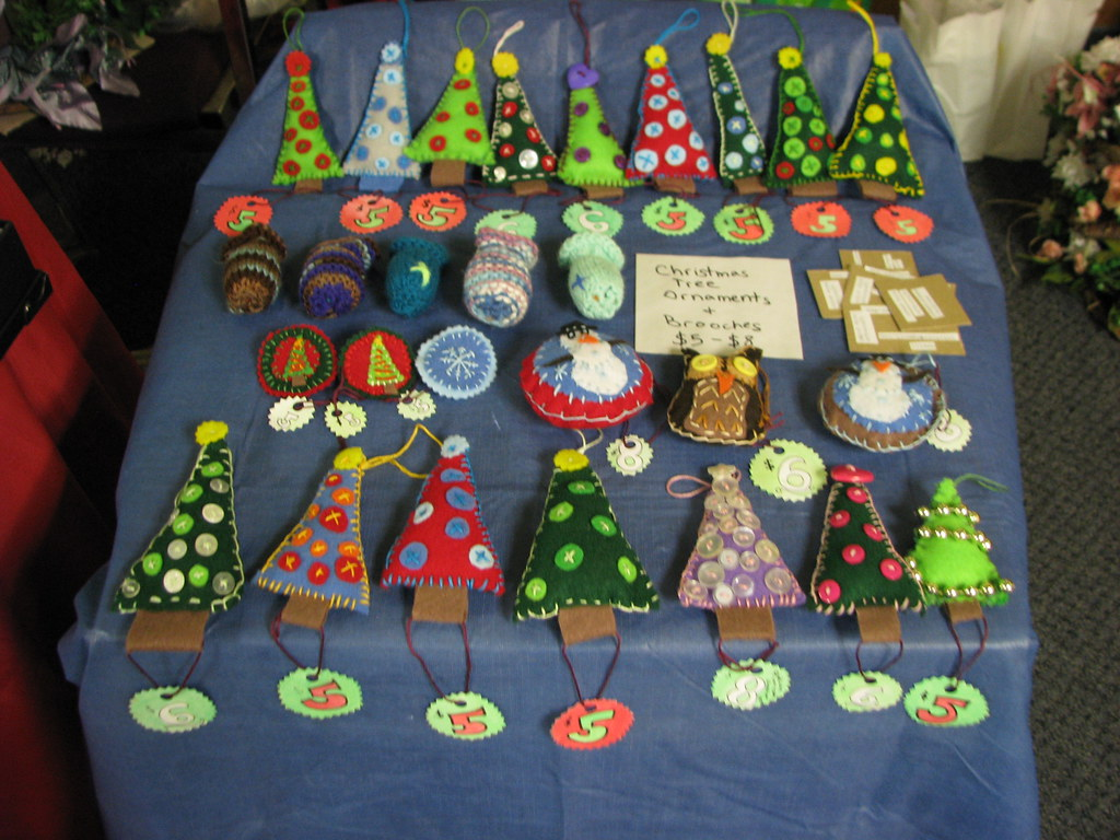 Christmas Ornaments to Sell at Craft Shows