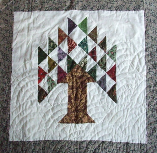 Freehand Baptist Fans Tree of Life Wallhanging