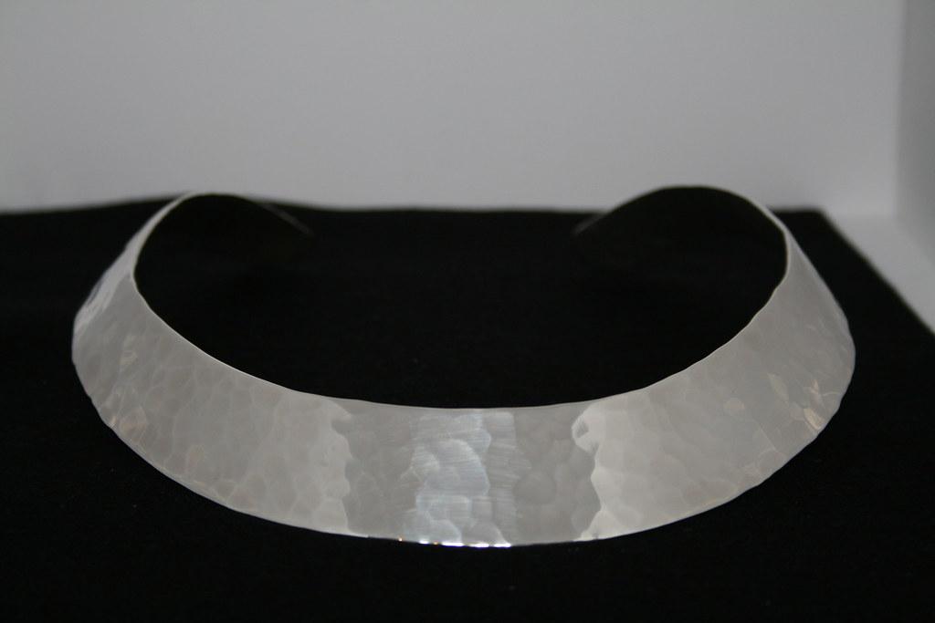 Silver Torque Necklace