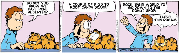Garfield: Lost in Translation, November 28, 2009