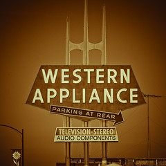 Western Appliance (Thomas Hawk) Tags: california usa neon unitedstates 10 unitedstatesofamerica sanjose fav20 fav30 southbay westernappliance fav10 fav25 fav40 superfave