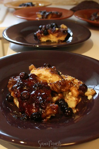 Breakfast - Blueberry French Toast Bake