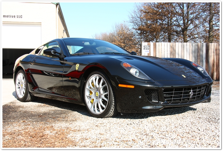 Ferrari 599 GTB full detail