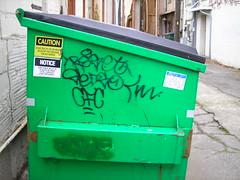 Reset CFC (ghoul school) Tags: self graffiti sticker slap bremerton std reset cfc natas slaptag sedso