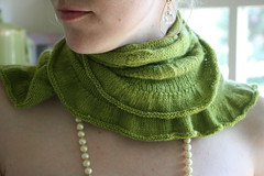 Citron (the yarniad) Tags: knitting shawl citron knitty