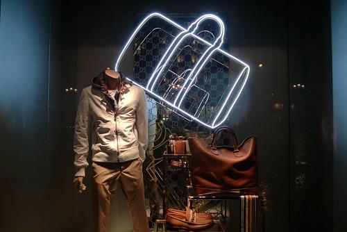 Vitrines Gucci - Paris décembre 2009