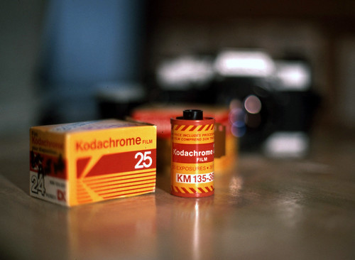 Kodak Kodachrome 25 - Pre-Paid Red Cannister