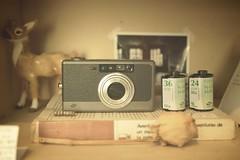 classica (librarymook) Tags: camera macro film vintage lens lumix iso100 book natura retro panasonic filter roll pancake 20mm f17 classica gf1 mooprint