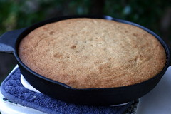 Meyer Lemon Upside-Down Cake