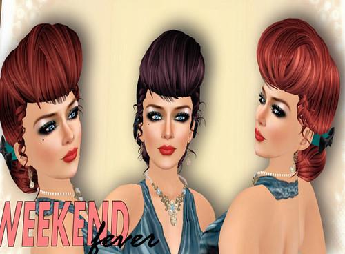 50L Weekend Fever Pocket Mirrors Hilda updo