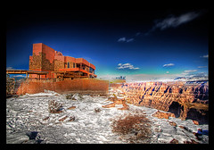 The Skywalk - Grand Canyon, Arizona (chitofran) Tags: winter arizona snow grandcanyon az hdr grandcanyonskywalk chitofran