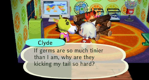 They're super germs Clyde!