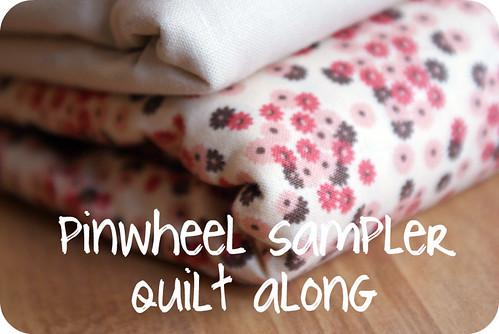 pinwheel sampler quilt along.