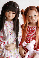 Yufang and Marthy (MiriamBJDolls) Tags: 2005 doll vinyl limitededition asiatic marthy yufang annettehimstedt himstedtkinder