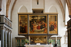 Reformation altar (Nick in exsilio) Tags: germany painting altar martinluther renaissance wittenberg eucharist reformation sacraments reredos