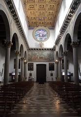 main entrance (brucexxit) Tags: italy church architecture religion dome viterbo laquercia