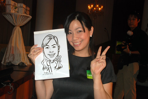 Caricature live sketching for GSK -6