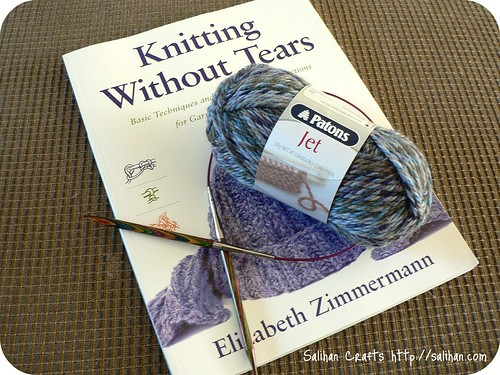 Knitting without Tears book