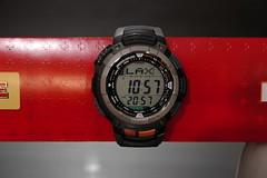 Casio PAW-1100 World Time Mode (Flatwave) Tags: watch casio abc gshock pathfinder protrek paw1100