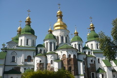 St Sophia Orthodox Cathedral in Kiev, Ukraine (pegase1972) Tags: kiev orthodoxchurch ukraine україна church orthodox dome licensed nspp cathedral getty sold exclusive