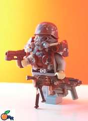 Ultranationalist :Urban Soldier (ORRANGE.) Tags: urban soldier paint lego custom orrange ultranationalist