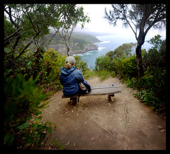 Peace & Solitude (ManWithAToyCamera) Tags: ocean road panorama great victoria lookout panasonic pancake 20mm stitched gow f17 gf1 shipwreckcoast greatoceanwalk damian78 brenizereffect dmcgf1
