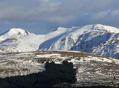 Ben Vorlich & Stuc a Chroin as seen from Benvane,  Balquhidder,  Scotland (David May) Tags: winter mountain landscape trossachs corbett callendar munro benvorlich benvane balquhidder stucachroin