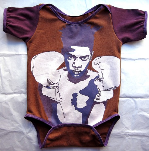 Basquiat Onesie--front