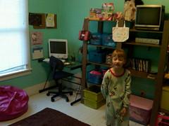 Edens new room