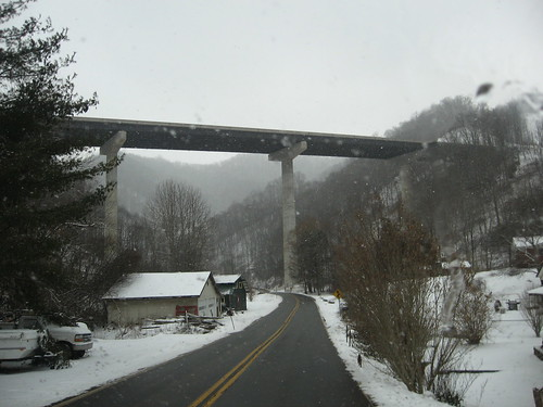 I-26, N of Asheville