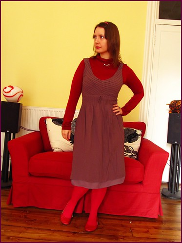 14.2.10: red and a 'special' dress
