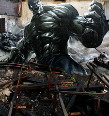 Hulk (SmugOne) Tags: uk urban art abandoned broken muscles wall demolish buildings painting real army graffiti scotland photo 3d mural ruins paint artist comic tank unitedkingdom decay glasgow destruction character smoke cartoon ruin picture scottish battle scene can smug spray burnt angry barbedwire spraypaint graff hulk dust aerosol exploration derelict aerosolart burned rubble tanks razorwire spraycan realism ruined incrediblehulk charred realistic urbex stpetersseminary photorealistic photorealism teamalosta alosta smugone