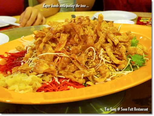 Lou Sang @ Soon Fatt Restaurant, Ipoh