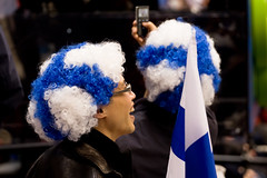 Some Finnish fans
