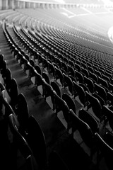 Countless (96dpi) Tags: blackandwhite bw berlin monochrome seats sw stadion curve schwarzweiss westend kurve olympiastadion rang tiltshift sitze tribne charlottenburgwilmersdorf wernermarch erdstadion ts17 tse17mm14l