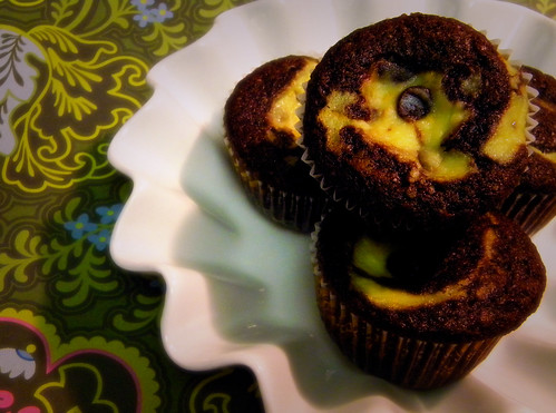 Ricotta Chocolate Cupcakes