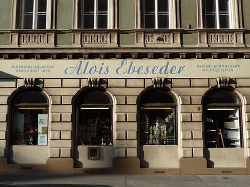 Script Signage in Vienna