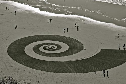 Ocean Beach Spiral #9